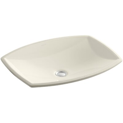 Kelston Rectangular Undermount Bathroom Sink Sink Finish: Almond
