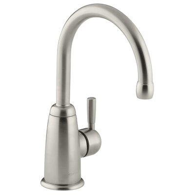 Wellspring Bar Faucet with Contemporary Design Finish: Vibrant Brushed Nickel