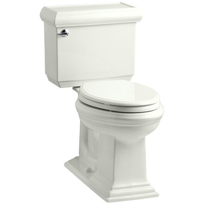Memoirs Classic Comfort Height Two Piece Elongated 1.6 GPF Toilet with Aquapiston Flush Technology and Left-Hand Trip Lever Finish: Dune