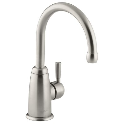 Wellspring Bar Faucet with Contemporary Design Finish: Vibrant Stainless