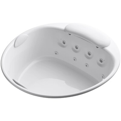 Riverbath 66 x 66 Whirlpool Bathtub Finish: White