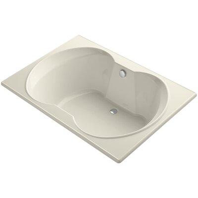 Overture 60 x 42 Soaking Bathtub Finish: Almond