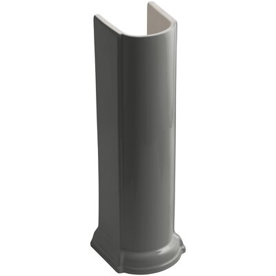 Devonshire Pedestal Pedestal Finish: Thunder Grey