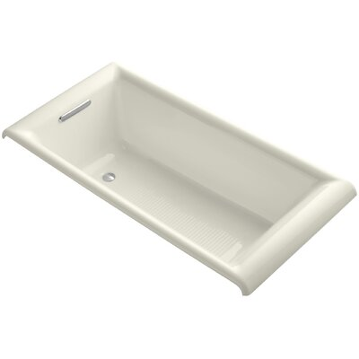 Parigi 66 x 32 Soaking Bathtub Finish: Biscuit