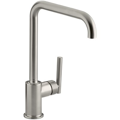 Purist Single-Hole Kitchen Sink Faucet with 8 Spout Finish: Vibrant Stainless