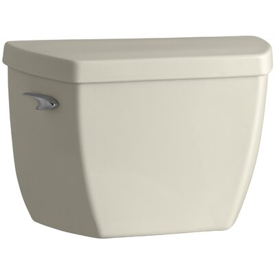 Highline Classic 1.0 GPF Toilet Tank with Tank Cover Locks and Left-Hand Trip Lever Finish: Almond