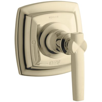 Margaux Valve Trim with Lever Handle for Volume Control Valve, Requires Valve Finish: Vibrant French Gold