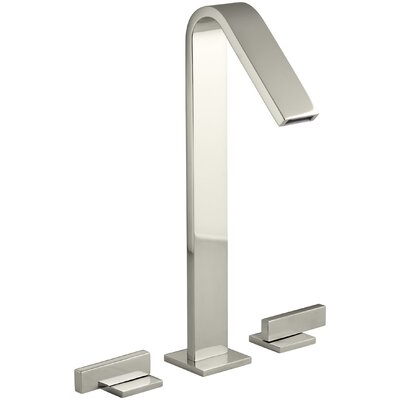 Loure Tall Widespread Bathroom Sink Faucet Finish: Vibrant Polished Nickel