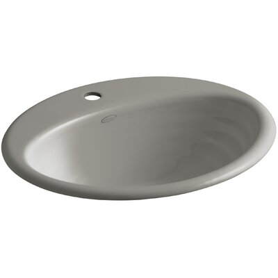 Ellington Self Rimming Bathroom Sink Finish: Cashmere