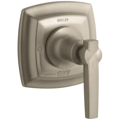 Margaux Valve Trim with Lever Handle for Volume Control Valve, Requires Valve Finish: Vibrant Brushed Bronze