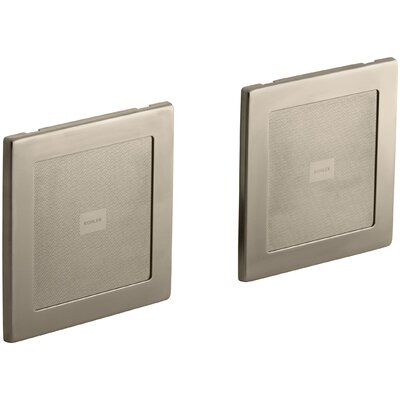 Soundtile Speakers (Pair Of Speakers) Finish: Vibrant Brushed Bronze