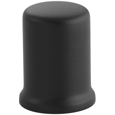 Air Gap Cover with Collar Finish: Matte Black