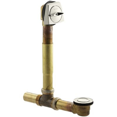 1.5 Trip lever Tub Drain With Overflow Finish: Vibrant Polished Nickel