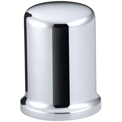 Air Gap Cover with Collar Finish: Polished Chrome