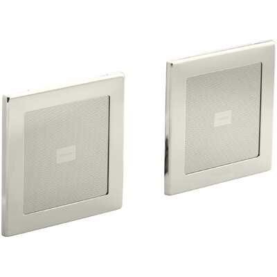 Soundtile Speakers (Pair Of Speakers) Finish: Vibrant Polished Nickel