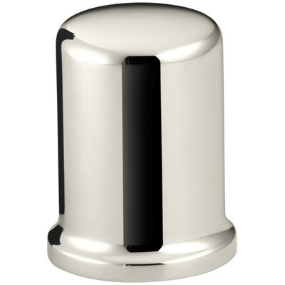 Air Gap Cover with Collar Finish: Vibrant Polished Nickel