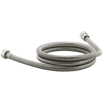 Mastershower 72 Metal Shower Hose Finish: Vibrant Brushed Nickel