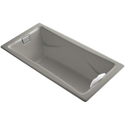 Tea-For-Two 72 x 36 Soaking Bathtub Finish: Cashmere