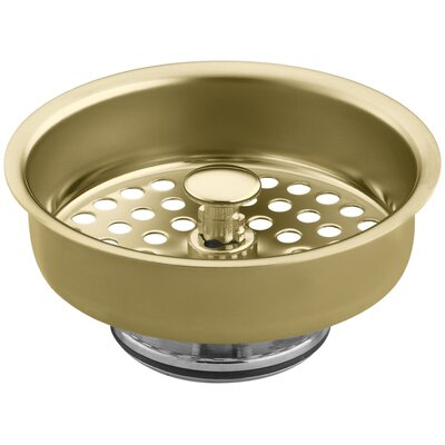 Duostrainer Manual Sink Basket Strainer Finish: Vibrant Polished Brass
