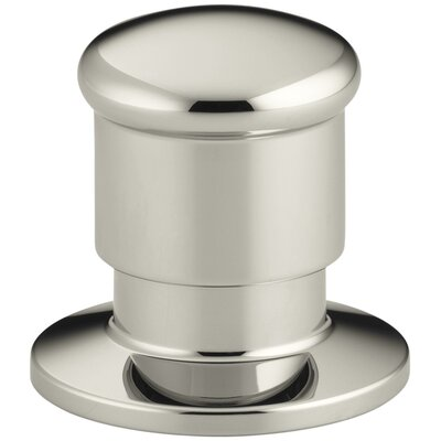 Deck-Mount Two-Way Diverter Valve Finish: Vibrant Polished Nickel K-9530-SN