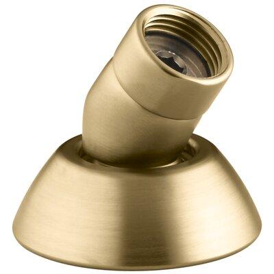 Three-Way Handshower Hose Guide Finish: Vibrant Moderne Brushed Gold