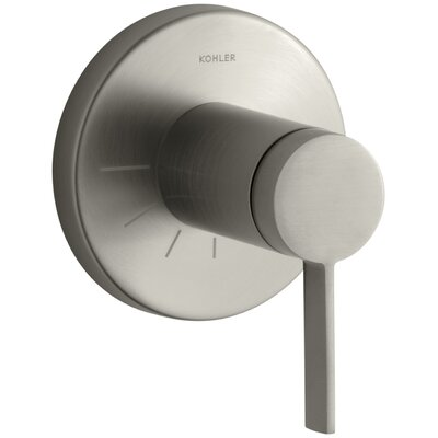 Stillness Valve Trim with Lever Handle for Volume Control Valve Finish: Vibrant Brushed Nickel