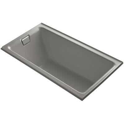Tea-For-Two Alcove 66 x 36 Soaking Bathtub Finish: Cashmere