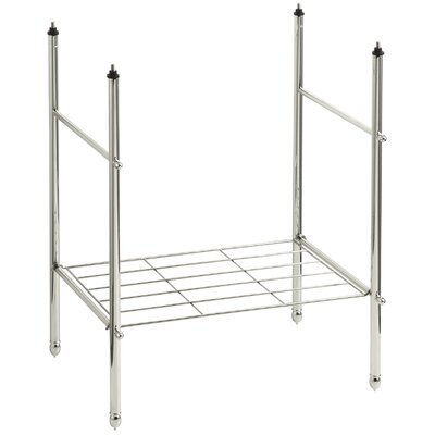 Memoirs Table Legs Finish: Vibrant Polished Nickel