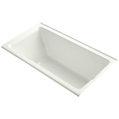 Tea-For-Two Alcove 66 x 36 Soaking Bathtub Finish: Dune