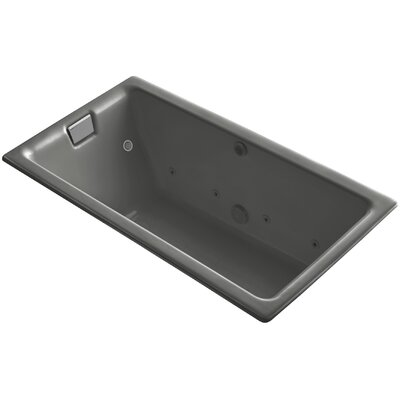 Tea-For-Two Effervescence 66 x 36 Whirpool Bathtub Finish: Cashmere