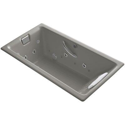 Tea-For-Two 66 x 36 Whirlpool Bathtub Finish: Cashmere