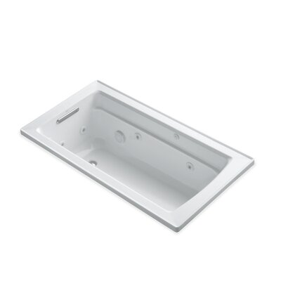 Archer 60 x 32 Whirlpool Bathtub Finish: White