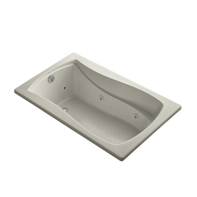 Mariposa 60 x 36 Drop-in Whirlpool Finish: Sandbar