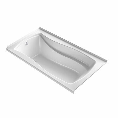 Mariposa 66 x 36 Air Bathtub Finish: White, Drain Location: Left