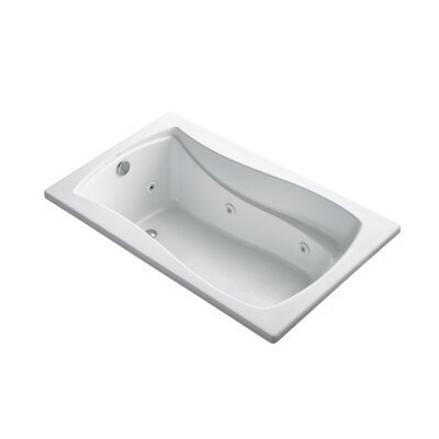 Mariposa 60 x 36 Drop-in Whirlpool Finish: White