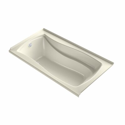 Mariposa 66 x 36 Air Bathtub Finish: Dune, Drain Location: Left