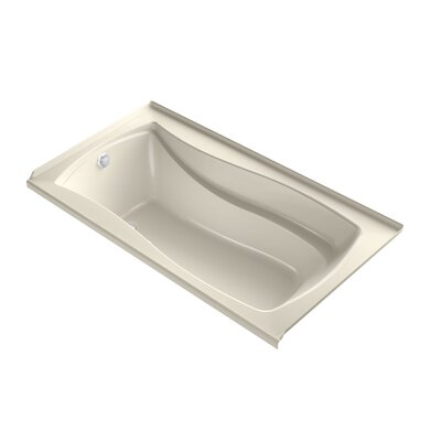 Mariposa 66 x 36 Air Bathtub Finish: Almond, Drain Location: Left
