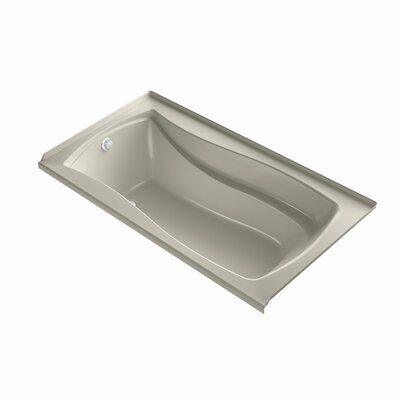 Mariposa 66 x 36 Air Bathtub Finish: Sandbar, Drain Location: Left