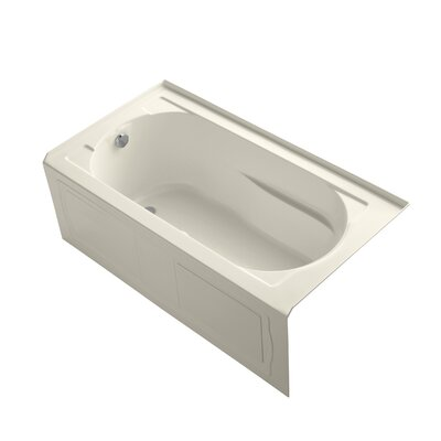Devonshire 60 x 32 Air Bathtub Finish: Almond
