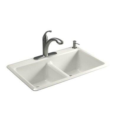 Kohler5817delafield cast iron kitchen sinkebay corner - Kohler corner kitchen sink ...