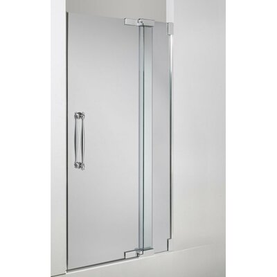 Shower Door Assembly Kit (Glass and Handle Kit Not Included) Finish: Bright Polished Silver