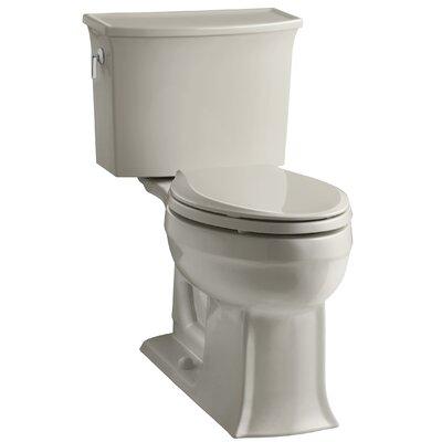 Archer 2 Piece Elongated Toilet with Aquapiston Flush Technology Finish: Sandbar