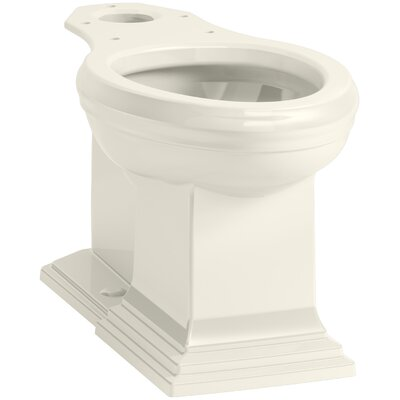 Memoirs Comfort Height Elongated Toilet Bowl with Concealed Trapway Finish: Biscuit