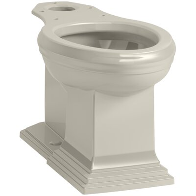 Memoirs Comfort Height Elongated Toilet Bowl with Concealed Trapway Finish: Sandbar