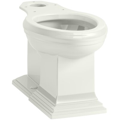 Memoirs Comfort Height Elongated Toilet Bowl with Concealed Trapway Finish: Dune