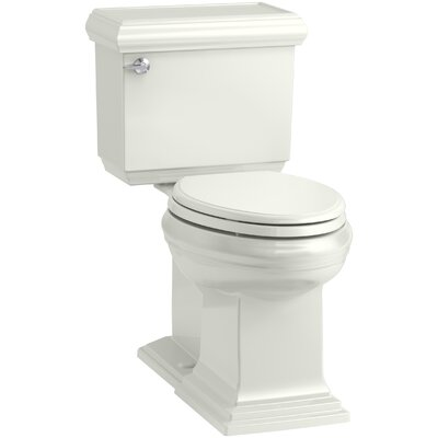 Memoirs Classic Comfort Height 2-Piece Elongated 1.28 GPF Toilet with Aquapiston Flush Technology and Left-Hand Trip Lever, Concealed Trapway Finish: Dune