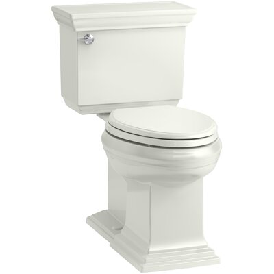 Memoirs Stately Comfort Height 2-Piece Elongated 1.28 GPF Toilet with Aquapiston Flush Technology and Left-Hand Trip Lever, Concealed Trapway Finish: Dune