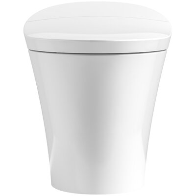 Veil Intelligent Skirted 1-Piece Elongated Dual-Flush Toilet