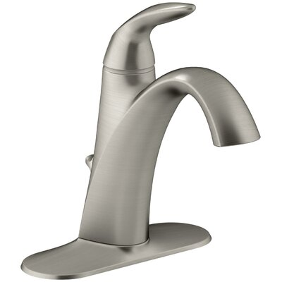 Alteo Single-Handle Bathroom Sink Faucet Finish: Vibrant Brushed Nickel