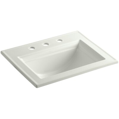 Memoirs Stately Self Rimming Bathroom Sink 4 Finish: Dune